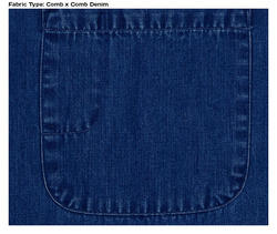 Comb Denim Fabric