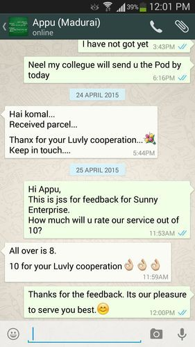 Feedback of Customers