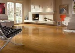 Living room wooden flooring