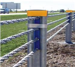 Wire Rope Fence Barrier, Gate, Grilles, Fences & Railings | Abassi ...