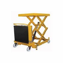 轻松移动黄色升降桌