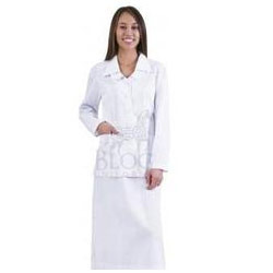 Long Sleeve Nurse Tunic for Hospitals