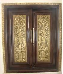 Brass Decorative Window
