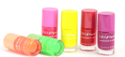 color fever neon nail lacquer