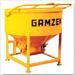 Concrete Buckets with Gear Operated Doors & Side Discharge