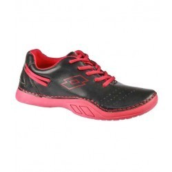 Lotto Rainbow-Black & Red Casual Shoes