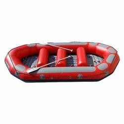Vinyl PVC Red & Grey Water Raft Boat