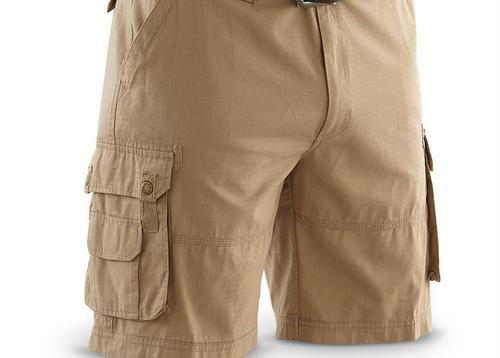 quality products fashion design compare price Men Brown Cargo Shorts