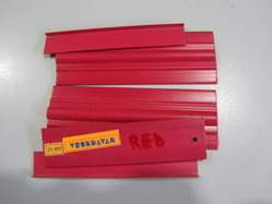 Red Color PVC Profile
