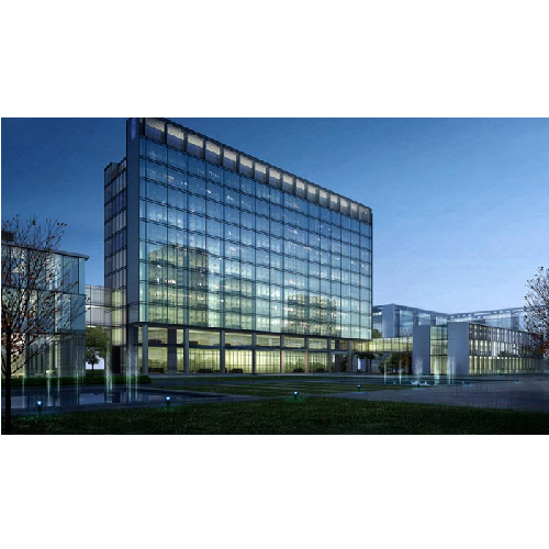 Light Industrial Construction Cost Per Square Foot: Commercial Office Building LED Lights