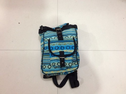 Cotton Fabric Backpack Bag