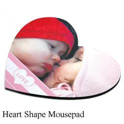 Heart Shape Mousepad Sublimation Heart Shape Mouse Pads
