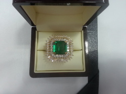 EM Octagon Ring