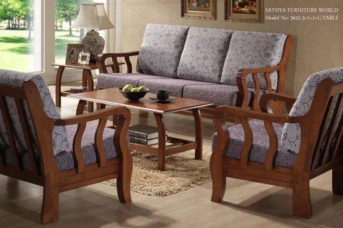 Sofa Set Teakwood Sofa Set Manufacturer From Chennai