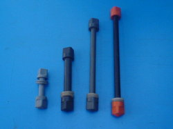 MS PP Cotated Nut Bolts