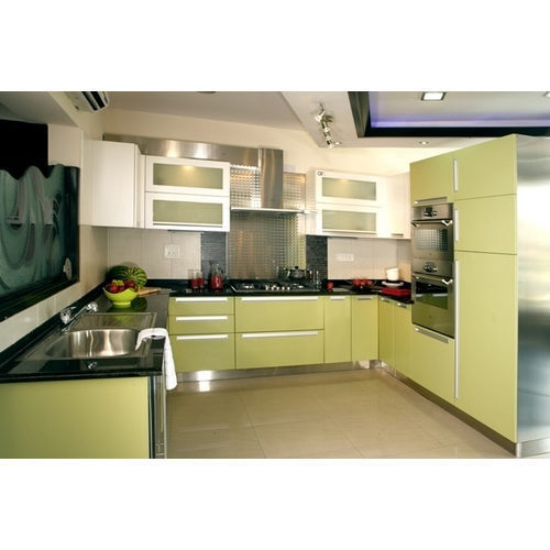Stainless Steel Modular Kitchen Cabinets: Stainless Steel Modular Kitchen Services In Sector 13