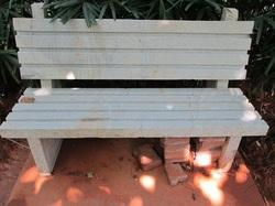 Granite Bench With Stripped