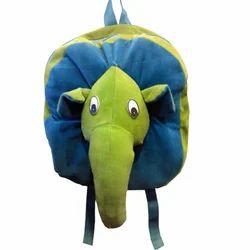 Blue And Green Fur Ganesh Teddy Bag
