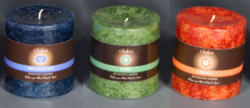Chakra Small Pillar Candle