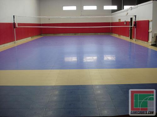 Indoor Volleyball Court Flooring in Keshab Chandra Sen Street ...