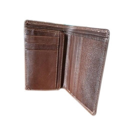 Kwality Gents Leather Wallets, Size: Basic