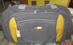 New Trendy Black Duffle Bag