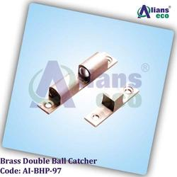 Brass Double Ball Catcher