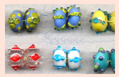 Multi-Colored Glass Beads SFB-11