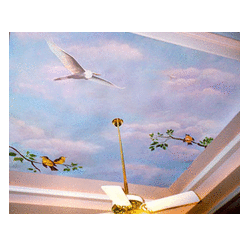 Ceiling Decoration Service Sky Moving Clouds Ceiling Service