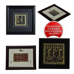 Dhokra Bell Metal Wall Decor Frames (Jaali)