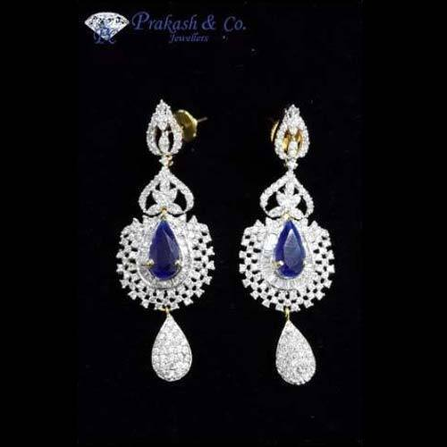 Prakash American Diamond Style Earrings
