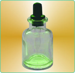 Dropping Bottles Neutral Hard Glass with Screw Cap