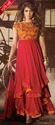 Red Anarkali Suit