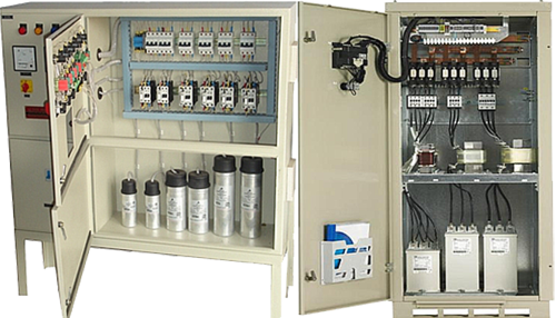 capacitor banks 500x500 capacitor banks waluj, aurangabad alpha techno solutions id 3 phase capacitor bank wiring diagram at arjmand.co
