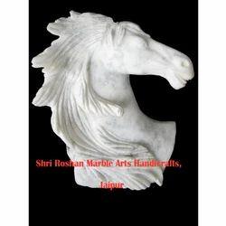 White Horse Bust, Usage: Interior Decor, Exterior Decor