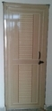 Pvc Single Panel Door With Door Frame Bulk Only