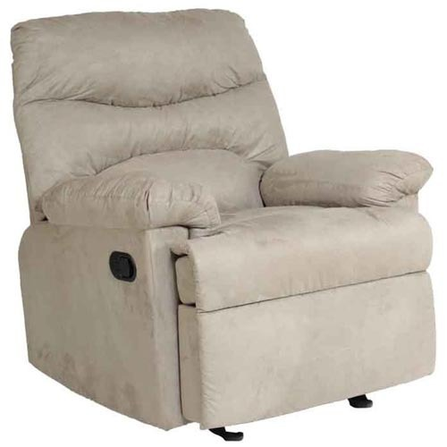 durian classy single seater micro fabric recliner sofa pepperfry
