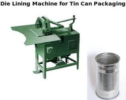 Die Lining Machine for Tin Can Packaging