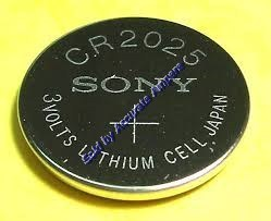 Sony Cr2025 3v Lithium Coin Battery