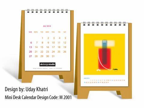 Creative Desk Calendar