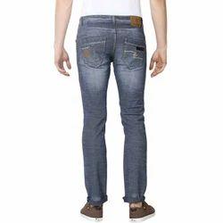 Casual Wear Mens Denim Grey Casual Jeans, Waist Size: 28-50 Inch