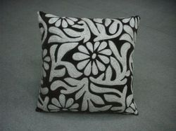 Designer Flower Cushion Cover