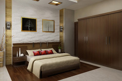 home interiors calicut bedroom interior work - Home Interior Work