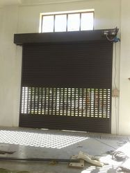 Insulated Double Wall Rolling Shutter