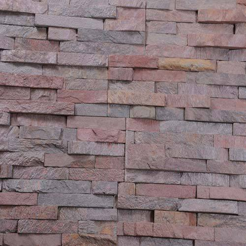 Copper Slate Stacked Stone Tile