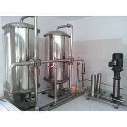Semi-Automatic Turnkey RO System For Package Drinking Water Project, Number of Membranes in RO: 3, Ozonator