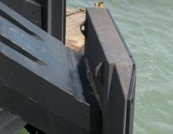 Marine Leg Element Fender