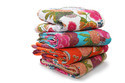 Floral Kantha Quilt Tropicana Kantha Throw Bed Cover