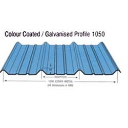 Galvanized Colour Coated Roofing Sheet Gi Color Coated