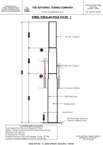 410 Sp 1 Street Light Poles Street Light Poles